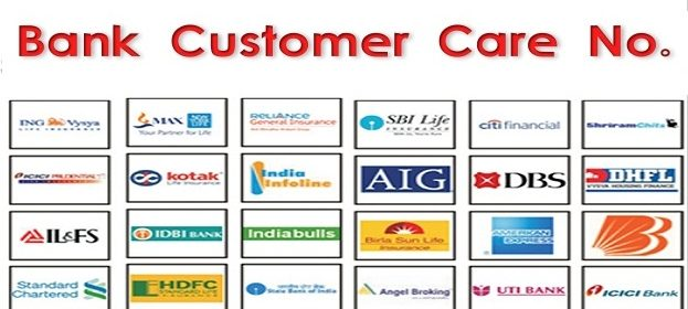 All Bank Customer Care Number List (Toll Free) 1