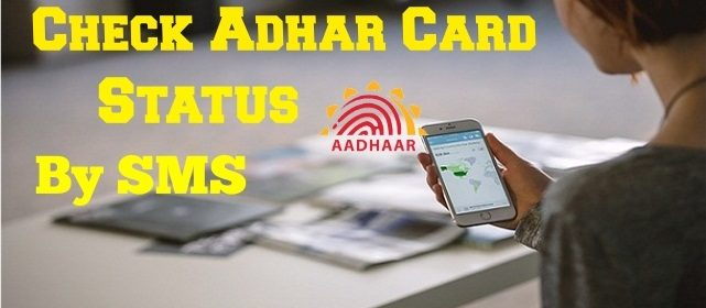 How to Check Aadhar Card status by SMS 3