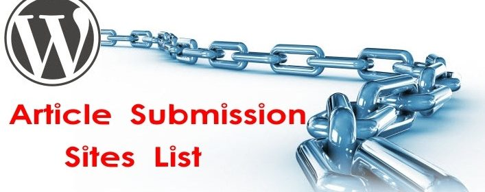 >30+ Best DoFollow Article Submission Sites list  2