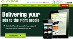 clicksor-google-adsense-alternative