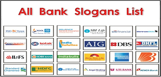 All Bank Slogans / Punchlines List (August | 2019)