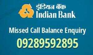 Indian bank balance check